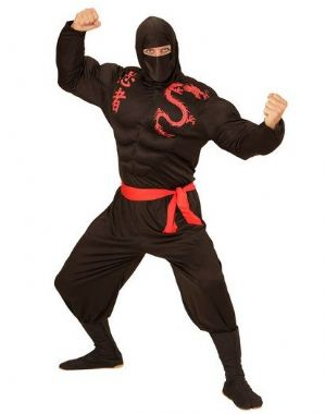 Super Ninja Warrior XL Costume (00524)